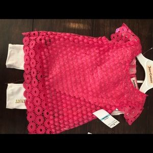 NWT JUICY COUTURE 2 PIECE PANT SET SIZE 6-9 MONTH